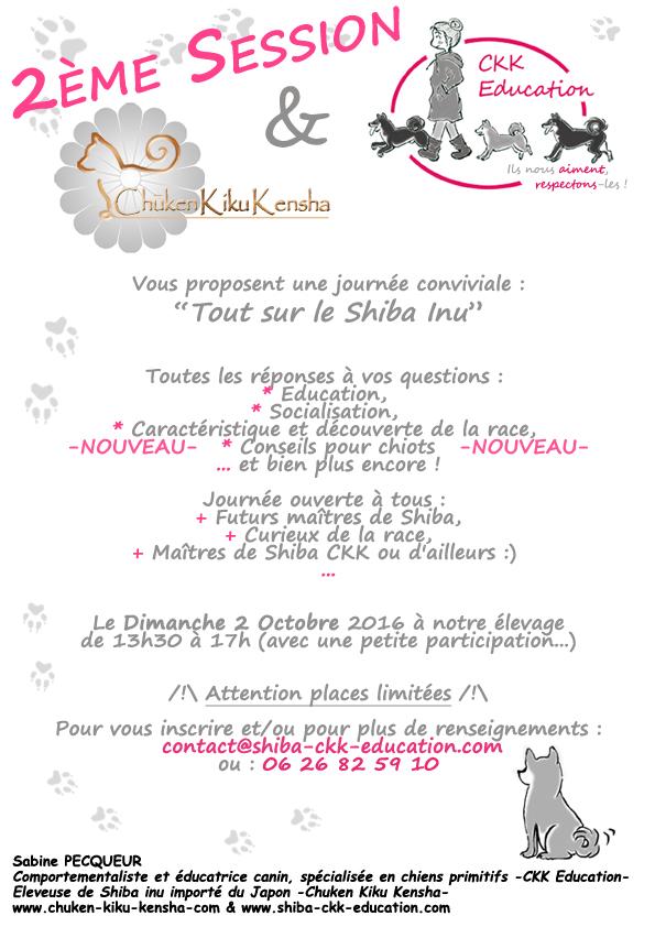Tout-sur-le-Shiba-inu-CKK-Education-canine-chien-primitif-elevage-Chuken-kiku-kensha-socialisation-chiot-caractere-question-race-japonaise-evenement-2016